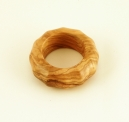 Olive Wood Octagonal Napkin Ring