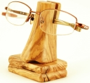 Olive Wood Nose Glasses Stand