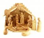 Olive Wood Deluxe Nativity Set