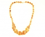 Olivewood Centrepiece Necklace