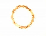 Olivewood Round & Tubular Bracelet